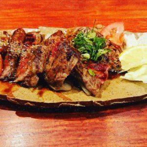 熊本赤牛ステーキ